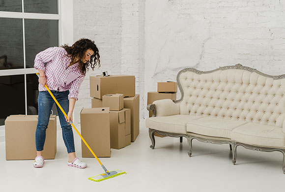 Clean you house before you Move In-Move Out